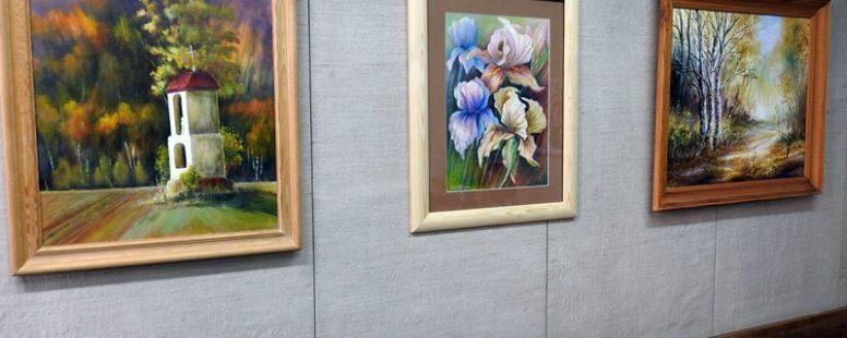 Kolorem na powierzchni dnia – wernisaż wystawy malarstwa