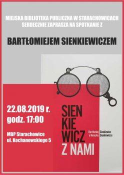 Spotkanie autorskie z Bartłomiejem Sienkiewiczem @ Kochanowskiego 5