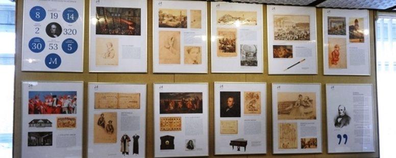 Życie i twórczość Stanisława Moniuszki – wystawa planszowa