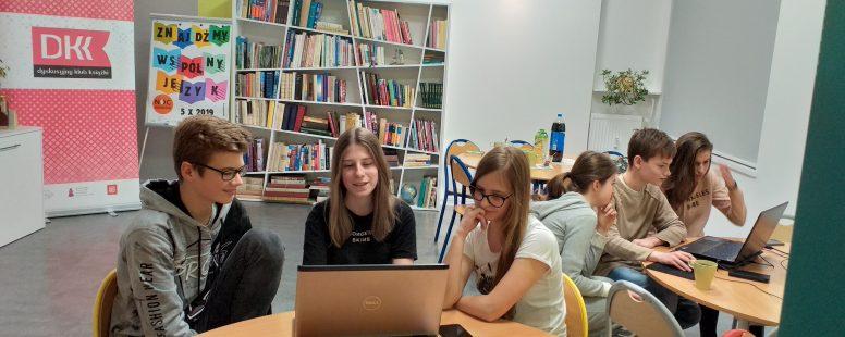 Noc Bibliotek w Plastusiu