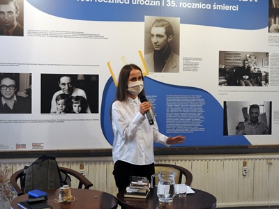 Wykład dr Anny Marchewki o Leopoldzie Tyrmandzie