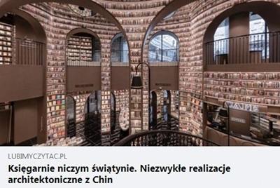 Księgarnie niczym świątynie