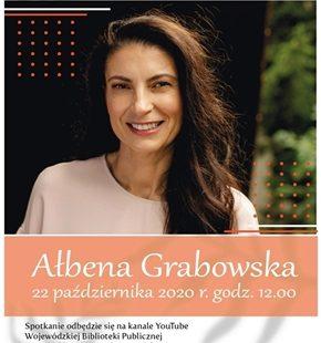 Spotkanie z Ałbeną Grabowską