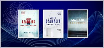 Nagrodzone książki Szamałka i najnowsza powieść Małeckiego