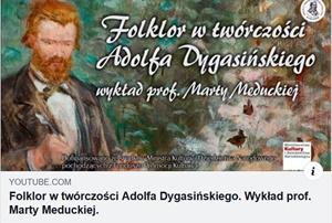 Folklor w twórczości Adolfa Dygasińskiego