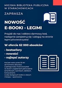 E-booki na platformie Legimi