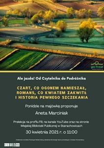 Ponidzie na majówkę – prelekcja Anety Marciniak
