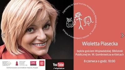 Spotkanie online z Wiolettą Piasecką