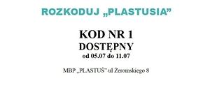 """Rozkoduj """"Plastusia""""- Sezon 2"""