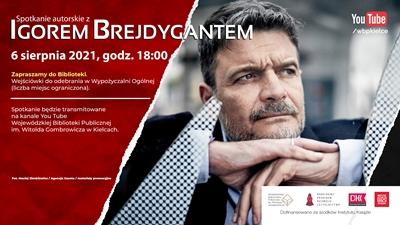 Spotkanie autorskie z Igorem Brejdygantem