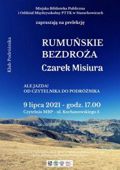 Rumuńskie bezdroża @ Kochanowskiego 5