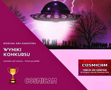 Zwycięzcy gry Cosmicam